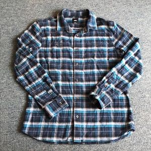 Blue Vans Flannel